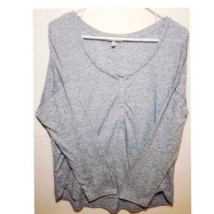 Victoria's Secret Henley long sleeve top